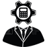 digital global agency white labelled analyst support icon image